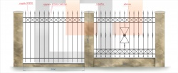 кованый забор 4