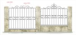 кованый забор 12