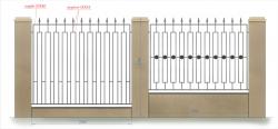 кованый забор 15