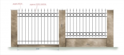 кованый забор 2