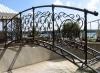 Кованый мостик 11