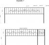 Кованая ограда 1