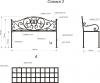 Кованая скамья 2