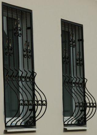 Декоративные оконные решетки