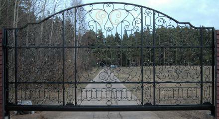 Ворота кованые эксклюзивные