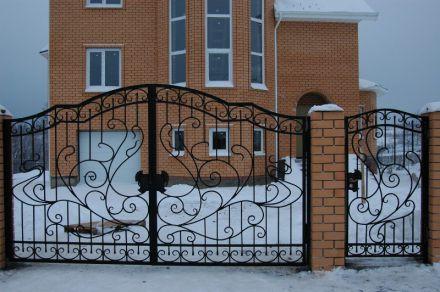 Кованые ворота заказать, г. Дмитров