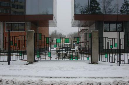 Металлические кованые ворота, г. Дубна