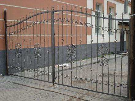 Металлические кованые ворота, г. Кимры