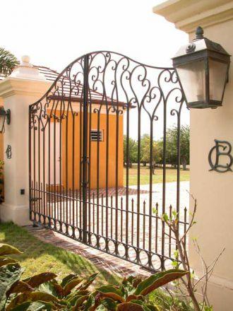 Кованые ажурные ворота