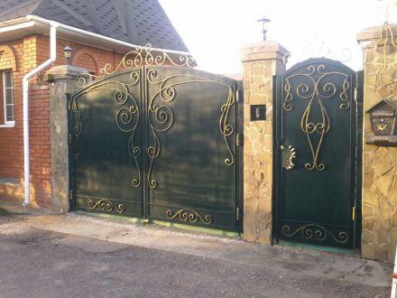 ворота и калитка звенигород