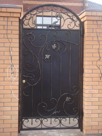 Металлические двери кованые