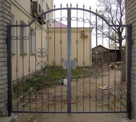 Купить ворота кованые