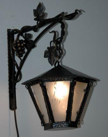 Художественная ковка фонари