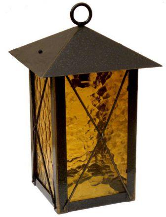 Кованый подвесной фонарь