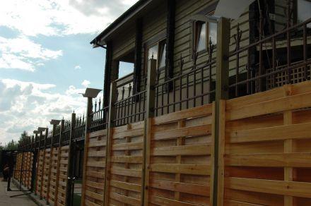 кованые навершия на деревянный забор