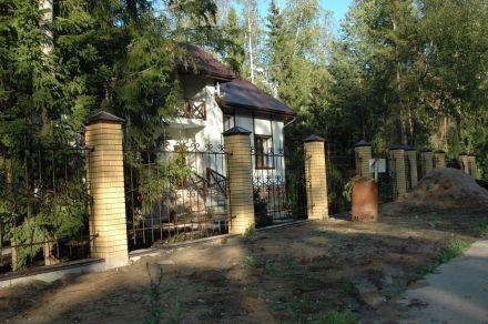 кованый забор в пушкинском районе