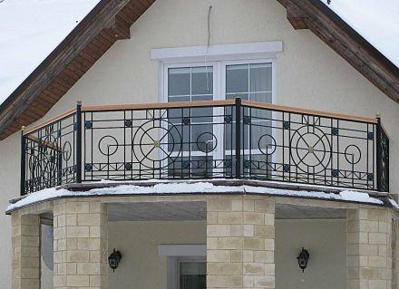 Кованый балкон, Москва, Новорижское шоссе