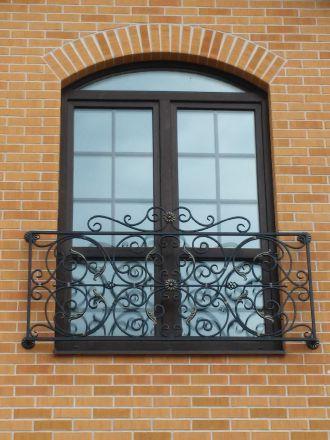 Купить французский кованый балкон