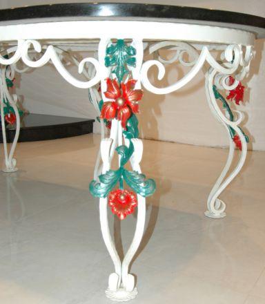Художественная ковка ножки для стола