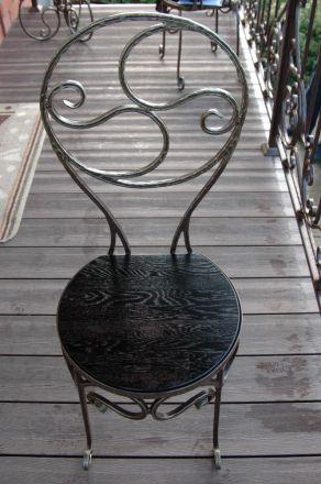 Кованые стул фото