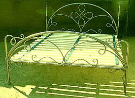 Кованая кровать цена