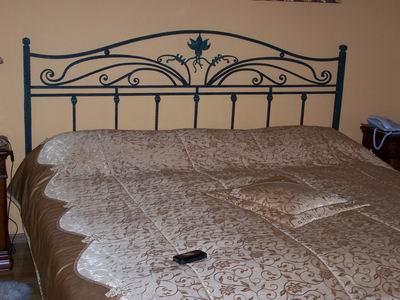 Кованая кровать на заказ в Москве