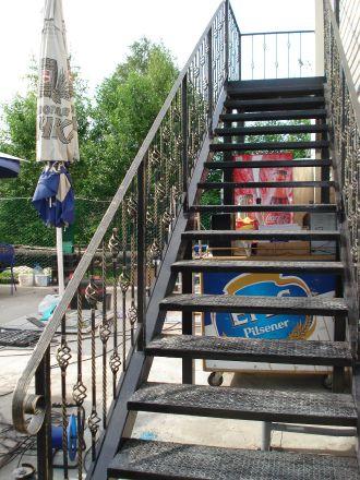 Кованые лестничные решетки