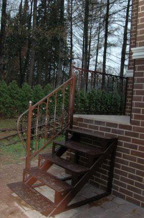 Изготовление металлокаркаса лестницы