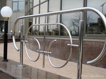 Заборы из нержавеющей стали