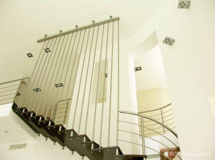 Маршевые лестницы из металла