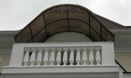 Козырек на балкон