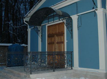Козырек над входом в Храм, Москва, Красногорский район