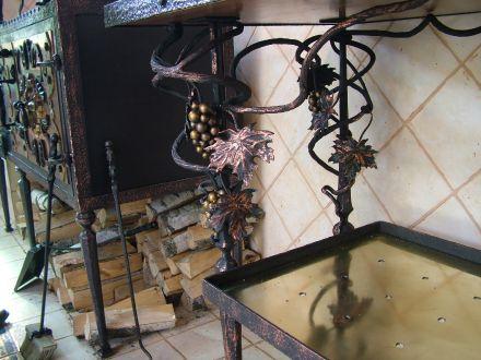 Виноградник - элемент ручной ковки