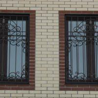 Кованые окна