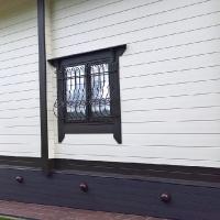 решетки в стиле французского балкона