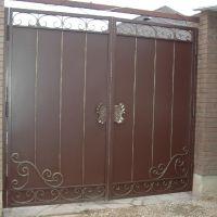 Готовые кованые ворота