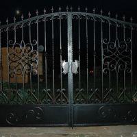 Ворота ограждения кованые