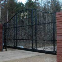 Ворота кованые каталог