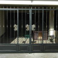 Ворота в вольер для собаки