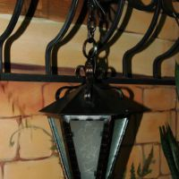 Кованые фонари светильники