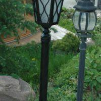 Кованые уличные фонари