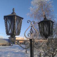 Фонари уличного освещения