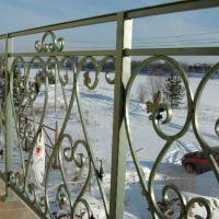 Кованые перила на балкон