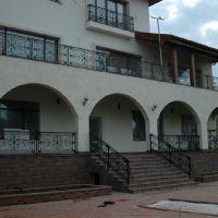 балконное ограждение с рисунком миандр