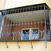 Кованые балконная решетка