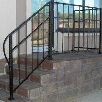 Кованые лестницы для дома в стиле хай-тек