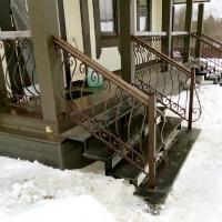 рисунок в стиле французского балкона