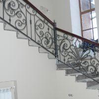 Ковка перил для лестниц