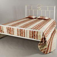 Кованые белые кровати