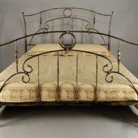 Кованые кровати полуторные